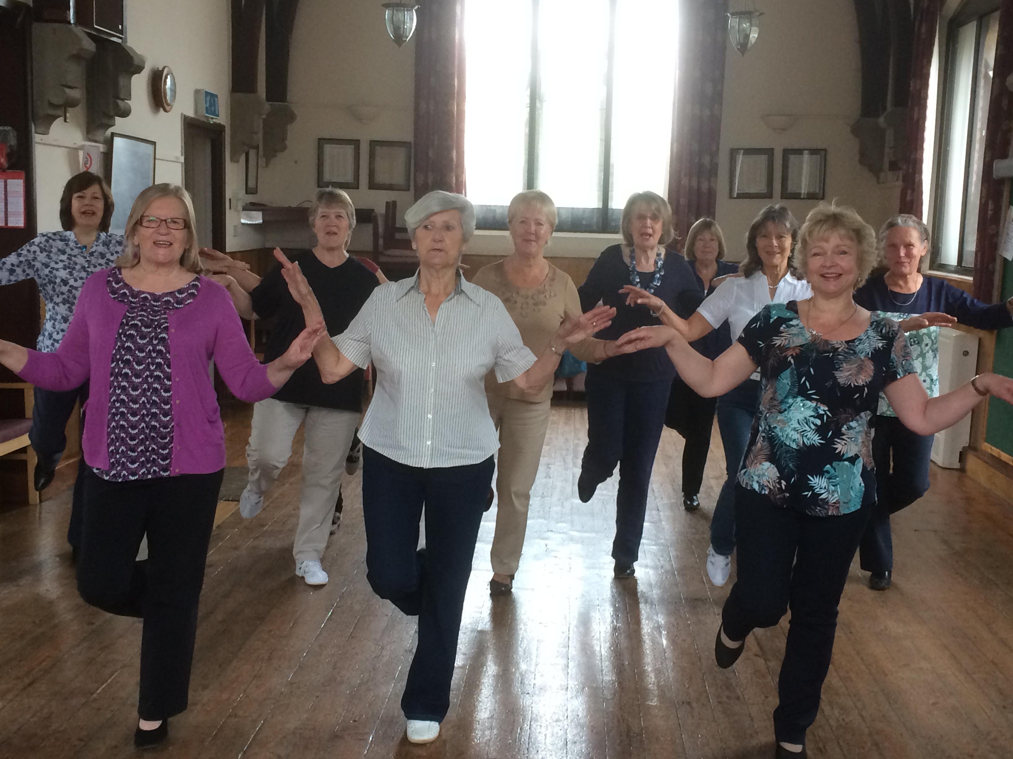Teaching line dancing Stamford area