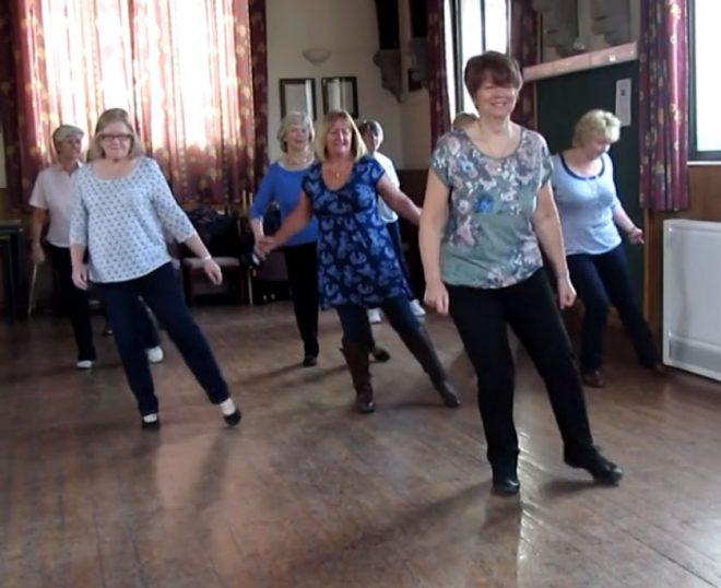 Broken Hearts Jason Donavan Line Dance routine