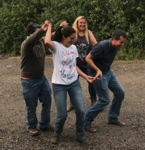 Country Weekend - 4 Strides, UK Barrel Horse Association