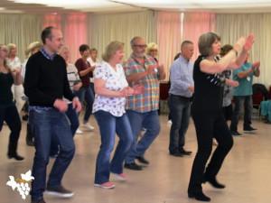 Line Dancing Caption